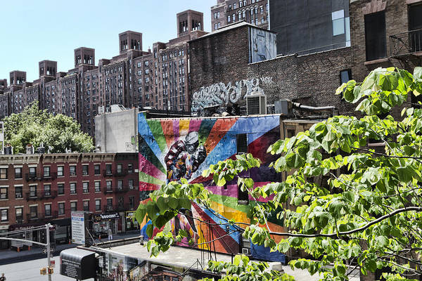 Photograph - High Line Urban View by Evie Carrier