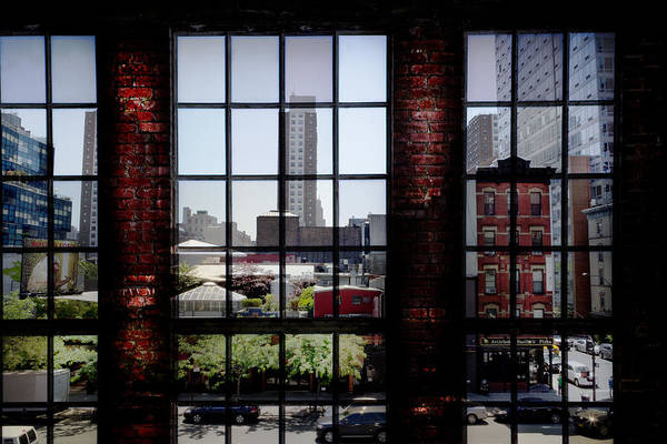 Photograph - High Line World Window New York City by Evie Carrier