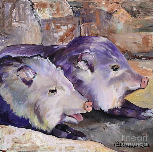 Painting - High Noon Siesta by Pat Saunders-White
