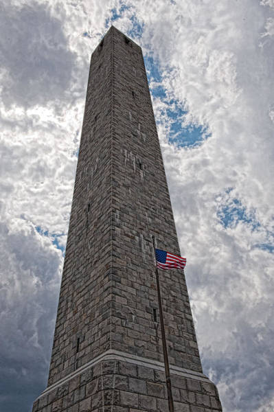 Photograph - High Point Monument by Keith Swango
