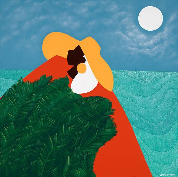 Wall Art - Painting - High Priestess Haiti by Synthia SAINT JAMES