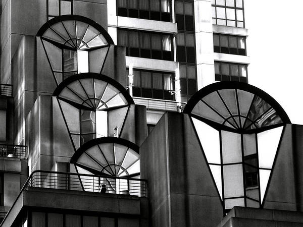 High-rise Wall Art - Photograph - High Rise In Black And White by Bill Gallagher