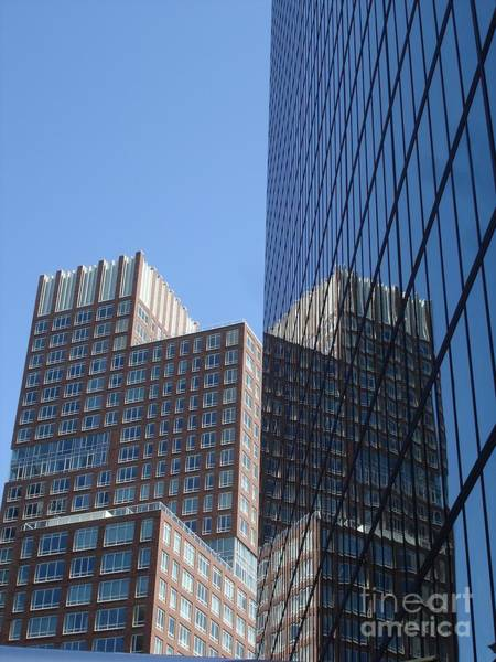 High Rise Reflection Art Print