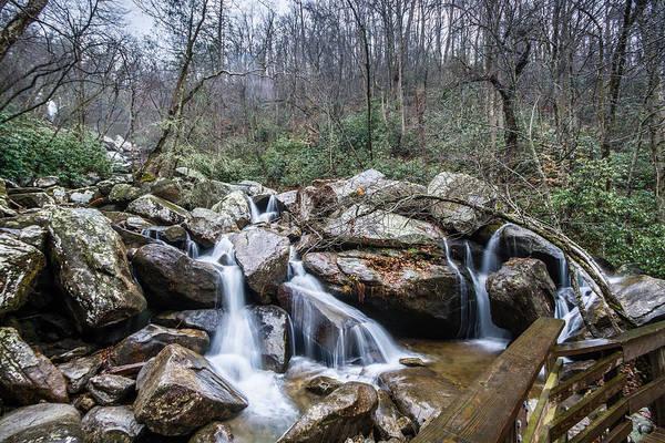 Photograph - High Shoals Falls by Randy Scherkenbach