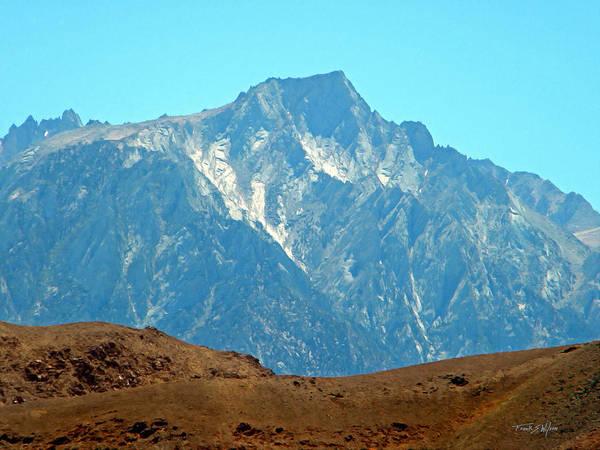 Photograph - High Sierra Nevada Peak by Frank Wilson