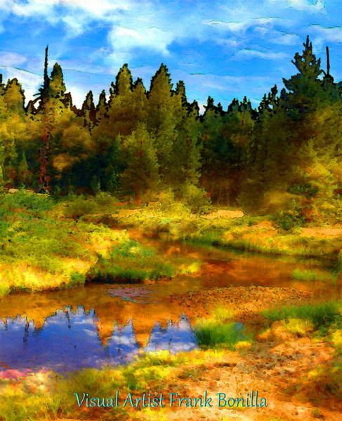 Digital Art - High Sierra by Visual Artist Frank Bonilla