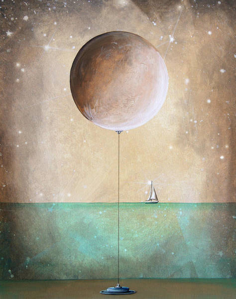 Whimsical Wall Art - Painting - High Tide by Cindy Thornton