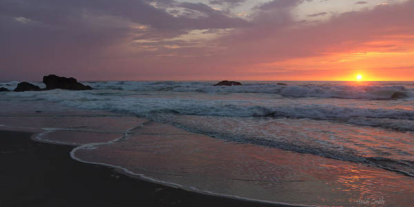 Fort Bragg Photograph - High Tide  by Heidi Smith