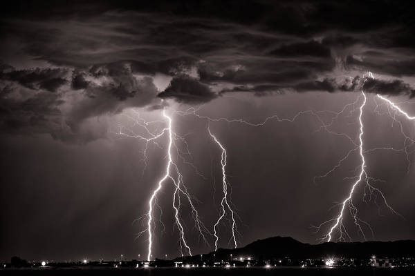 Photograph - High Voltage by Brad Brizek