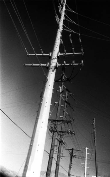 Powerage Wall Art - Photograph - High Voltage by Mike Greco