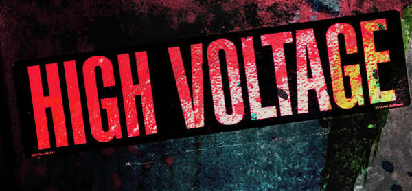 Photograph - High Voltage - Mike Hope by Michael Hope