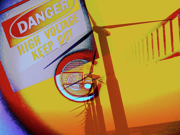 Prop Digital Art - High Voltage by Molly McPherson
