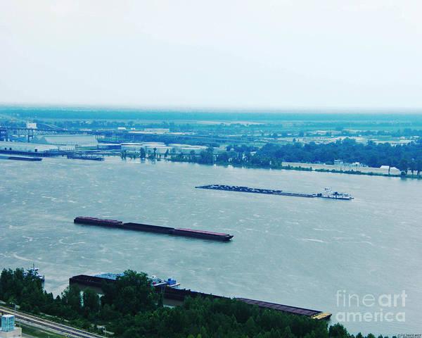Photograph - High Water Baton Rouge La 2011 by Lizi Beard-Ward