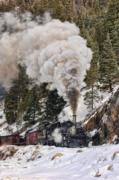 K-28 Photograph - Highball Through Cascade Canyon by Ken Smith
