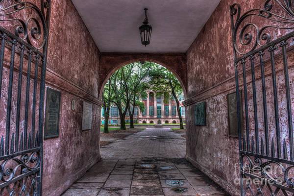 Photograph - Higher Education Tunnel by Dale Powell
