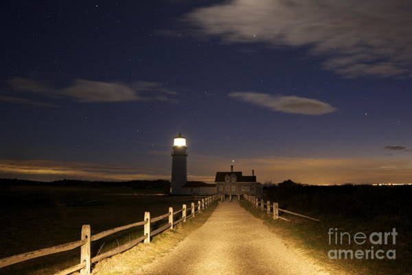 Photograph - Highland Light North Truro by Amazing Jules