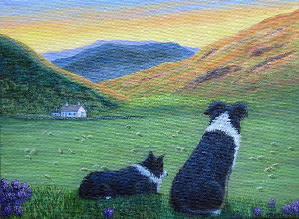 Painting - Highland Watch by Fran Brooks