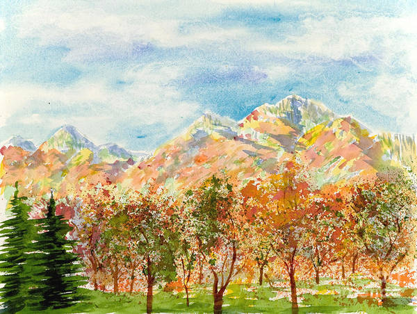 Painting - Highlands Autumn by Walt Brodis