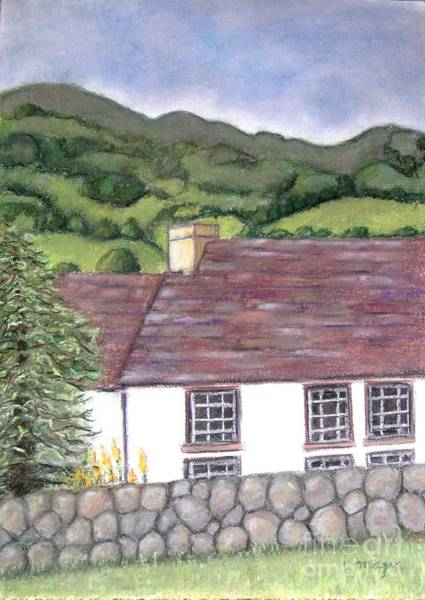 Pastel - Highland Farmhouse by Laurie Morgan