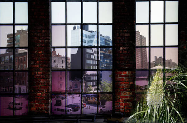 Photograph - High Line Window On The World by Evie Carrier