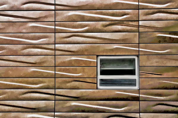 Photograph - Highline Window Surrounded By Patterns by Gary Slawsky
