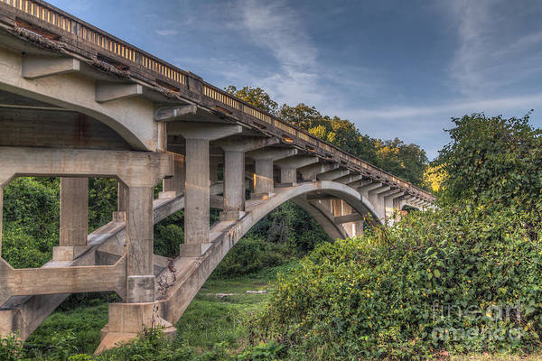 Riverway Photograph - Highway 19 Bridge At Round Springs by Larry Braun