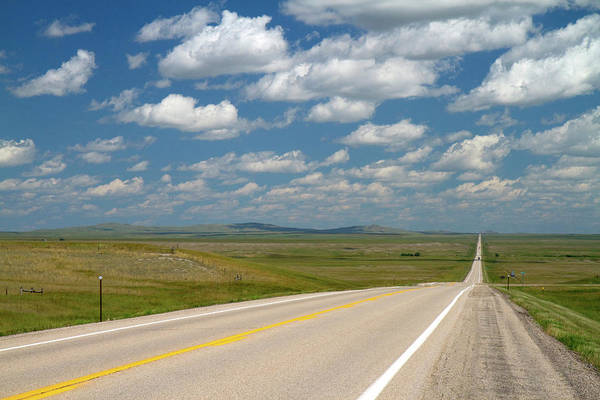 R Photograph - Highway 85 North Of Spearfish, South by David R. Frazier