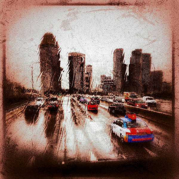 Photograph - Highway City by Yen
