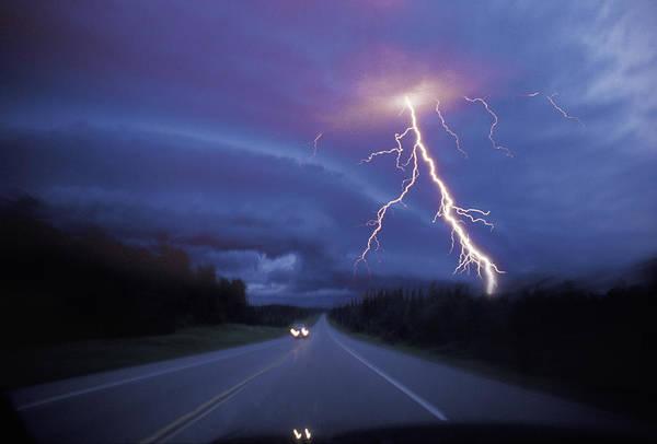 Danger Photograph - Highway Danger by Lyle Leduc