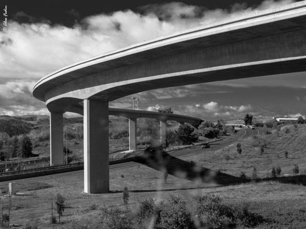 Photograph - Highway Ramp by Alexander Fedin