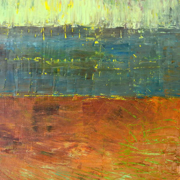 Wall Art - Painting - Highway Series - River by Michelle Calkins