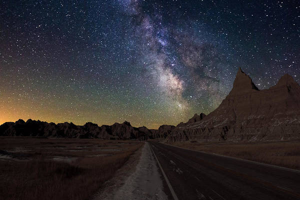 Milky Way Wall Art - Photograph - Highway To by Aaron J Groen