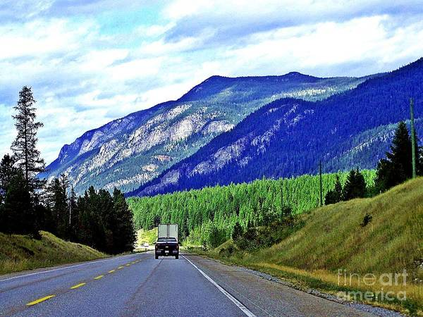 Freightliner Wall Art - Photograph - Highway To Heaven by Christian Mattison