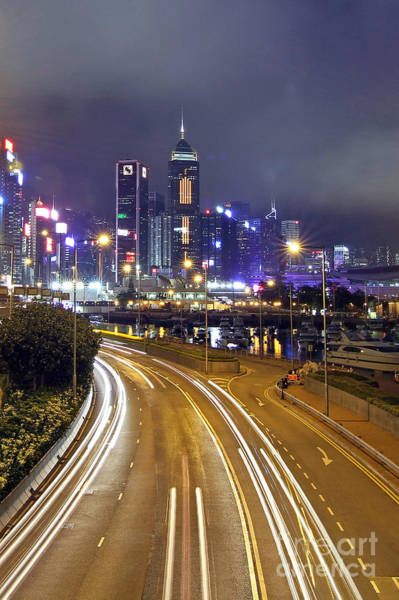 Wall Art - Photograph - Highway To Hong Kong by Lars Ruecker