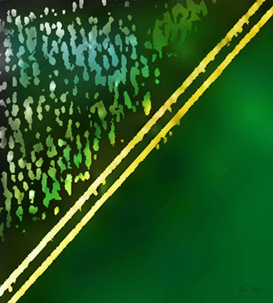New Thought Digital Art - Highway To The Emerald City by Del Gaizo