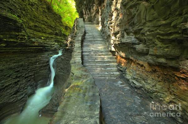 Photograph - Hike Along The Gorge Trail by Adam Jewell