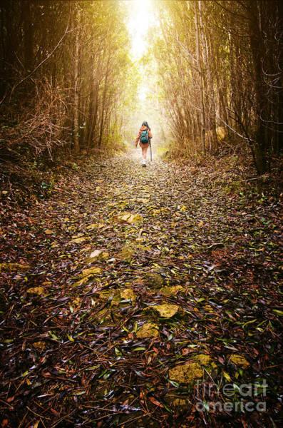 Wall Art - Photograph - Hiker Girl by Carlos Caetano