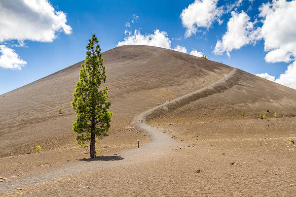 Photograph - Hiking Cinder Cone by Pierre Leclerc Photography