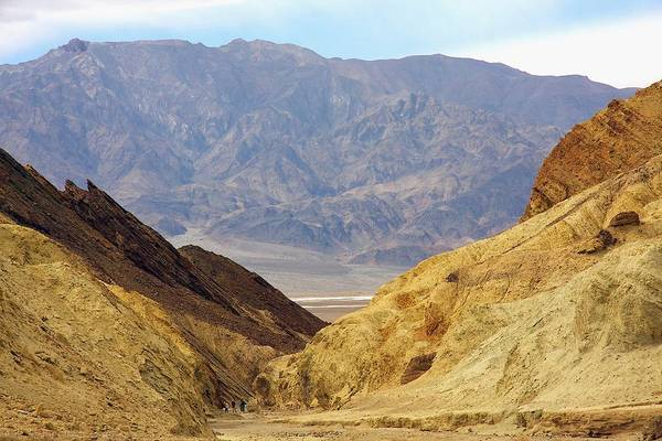 Photograph - Hiking Golden Canyon by Stuart Litoff