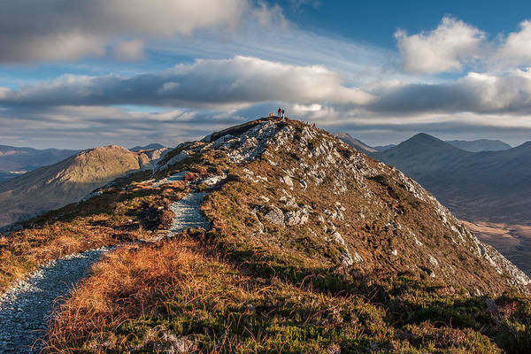 Photograph - Hiking In Connemara Ireland by Pierre Leclerc Photography