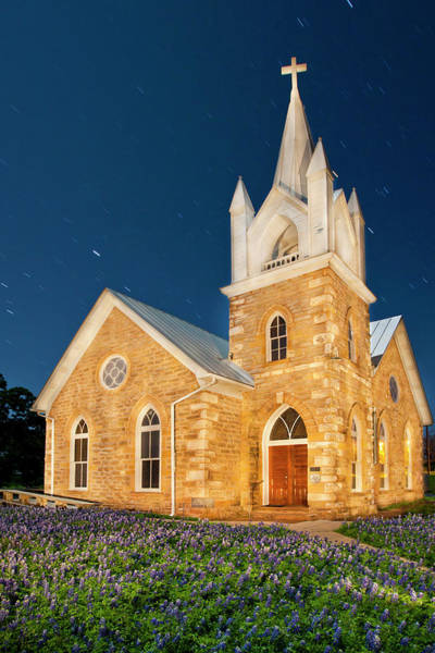 Frontier Photograph - Hilda Methodist Church From 1862 by Larry Ditto