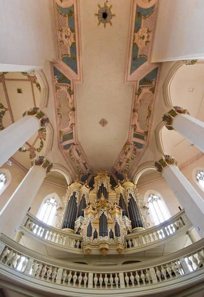 Photograph - Hildebrandt Organ Naumburg by Jenny Setchell