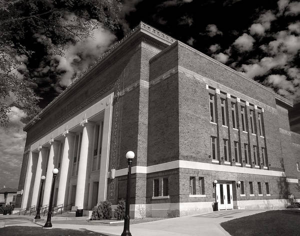 Photograph - Hill Auditorium by James Howe