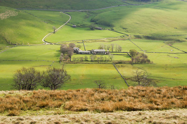 Photograph - Hill Farm In The Peak District by Pete Hemington