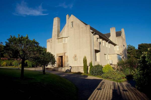 Photograph - Hill House By Charles Rennie Mackintosh by Stephen Taylor
