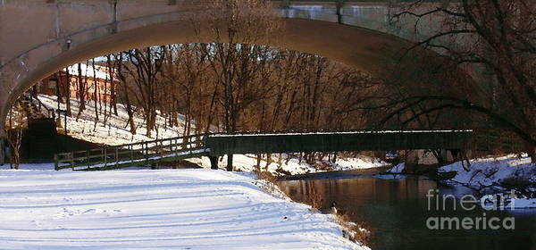 Monocacy Wall Art - Photograph - Hill To Hill Bridge On Monocacy by Jacqueline M Lewis