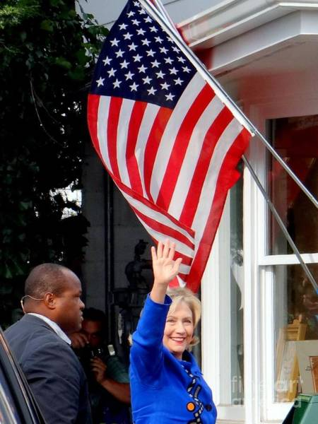 Hillary Clinton Photograph - Hillary Clinton by Ed Weidman