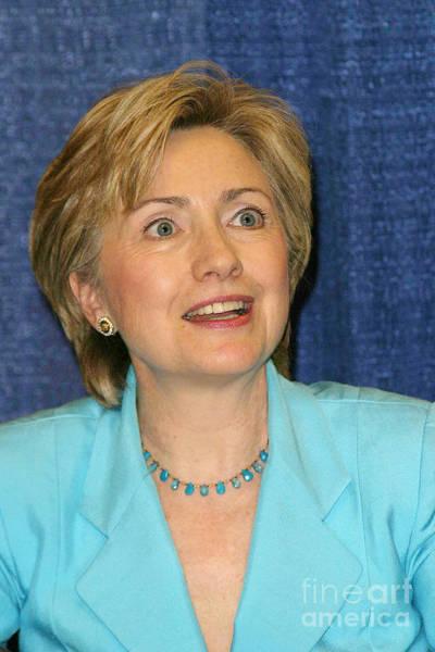 Hillary Clinton Photograph - Hillary Clinton by Nina Prommer