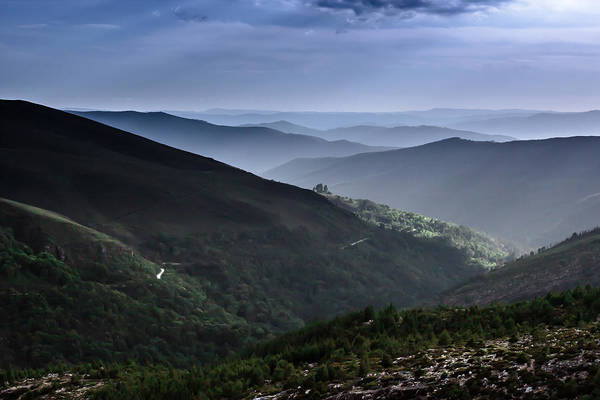 Photograph - Hills And Valleys by Edgar Laureano