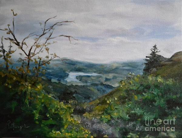 Painting - Hills And Valleys by Lori Pittenger